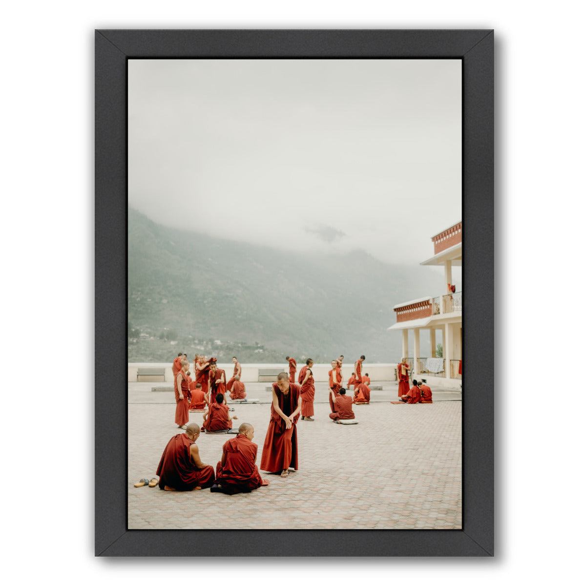 India By Natalie Allen - Black Framed Print - Wall Art - Americanflat