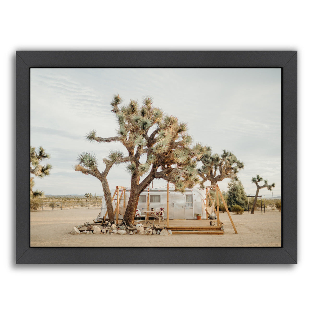 Joshua Tree Acres By Natalie Allen - Black Framed Print - Wall Art - Americanflat