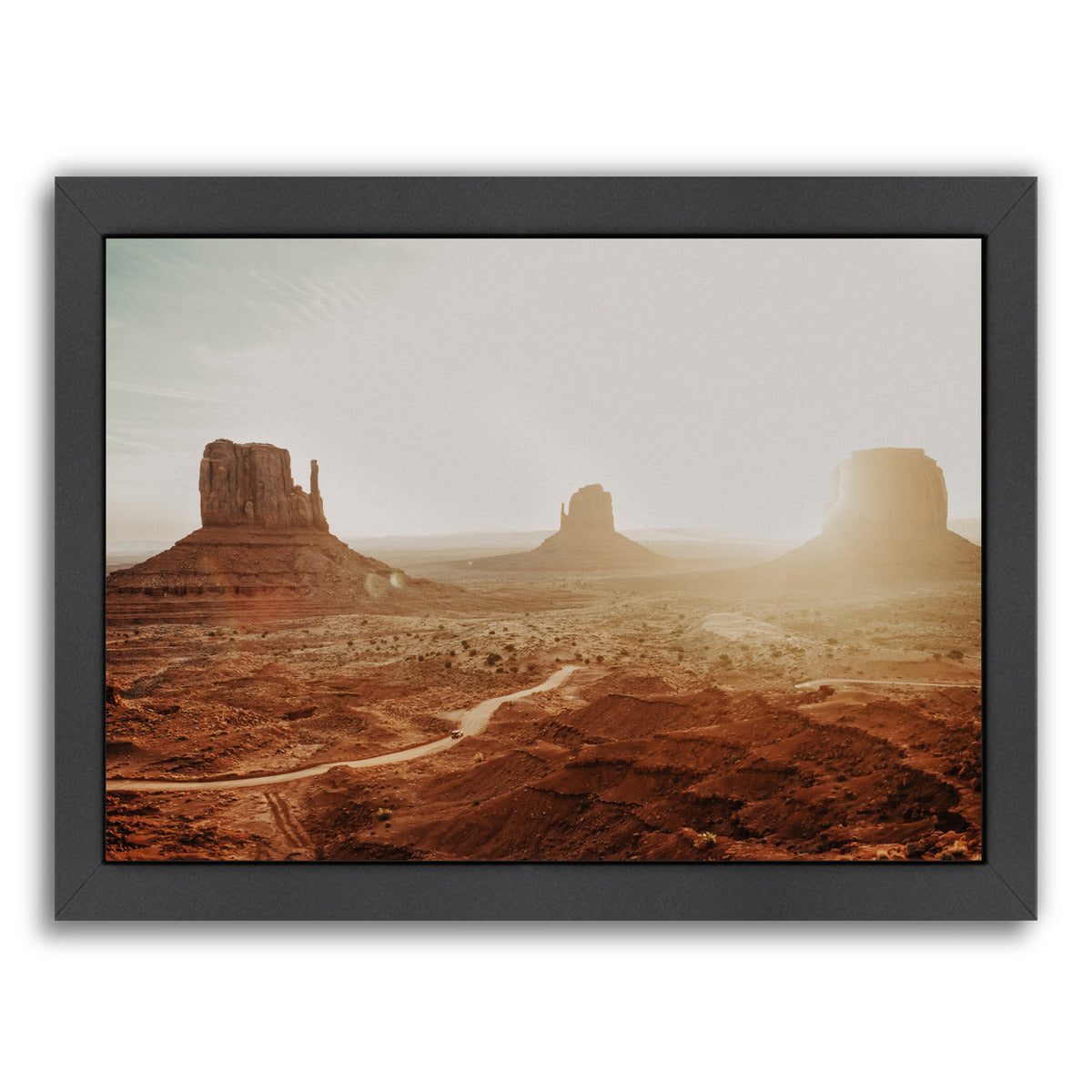 Monument Valley 3 By Natalie Allen - Black Framed Print - Wall Art - Americanflat