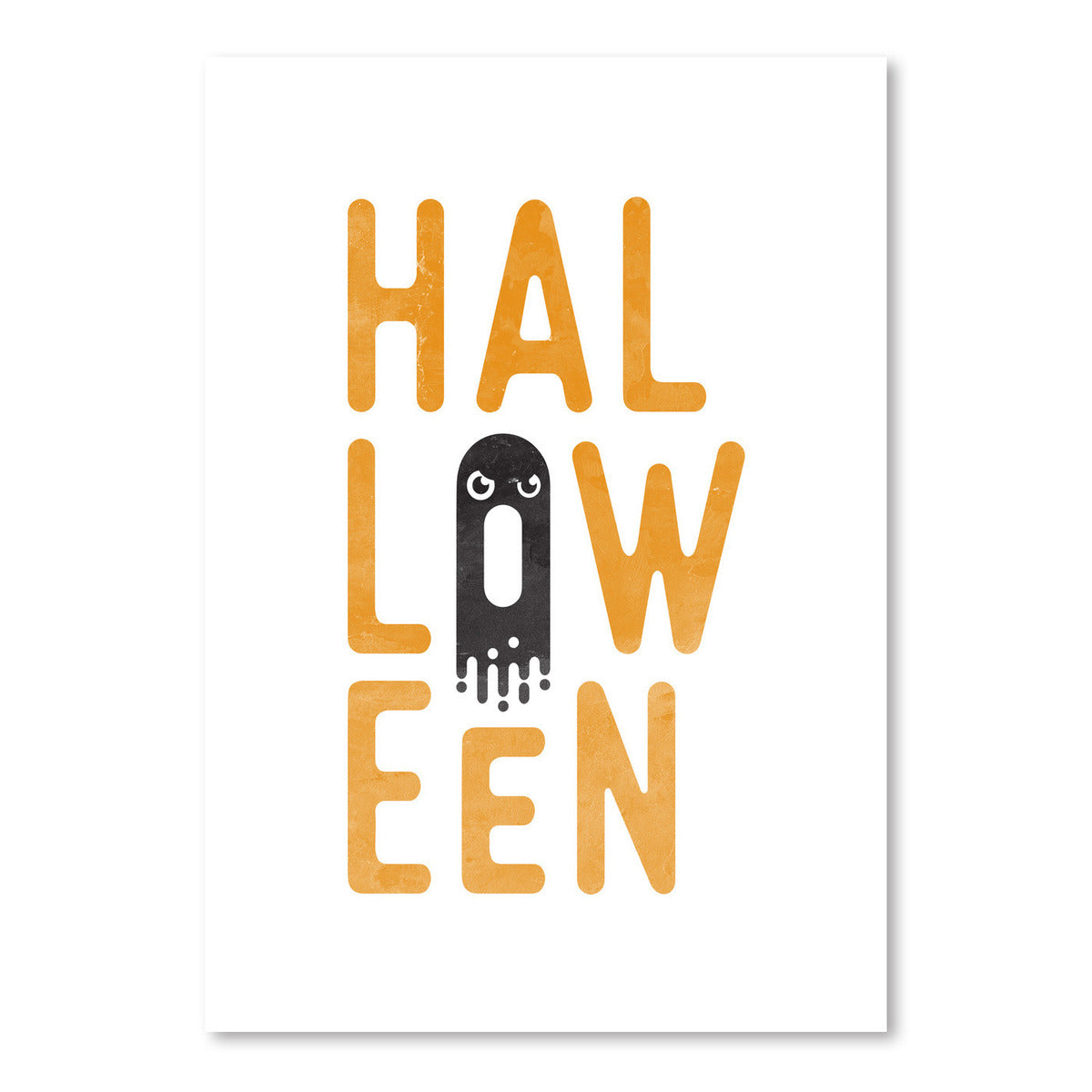 HALLOWEEN by Good Vibe Design - Art Print - Americanflat