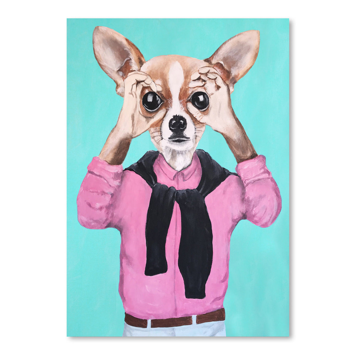 Chihuahua Is Watching You by Coco de Paris - Art Print - Americanflat