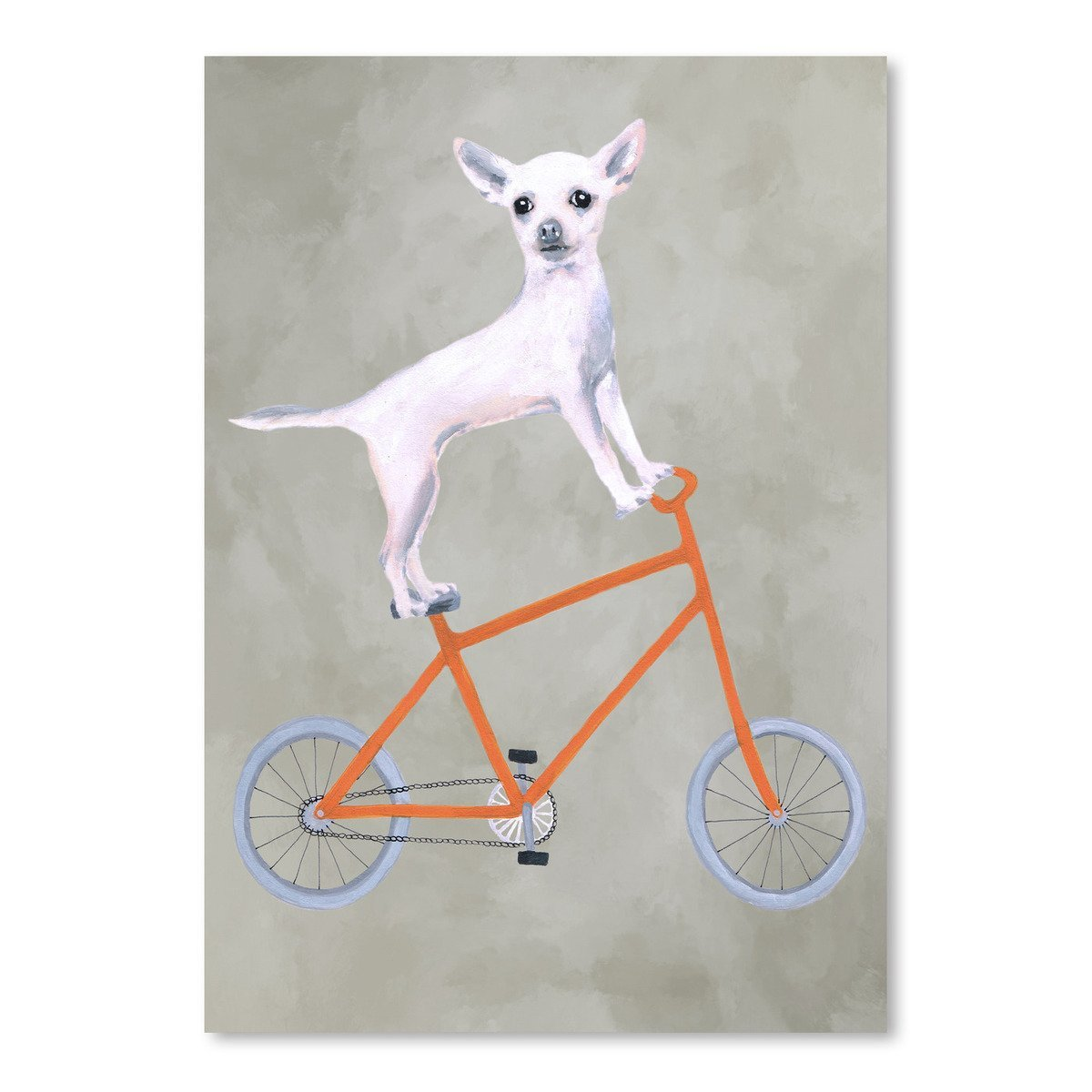 Chihuahua On Bicycle by Coco de Paris - Art Print - Americanflat