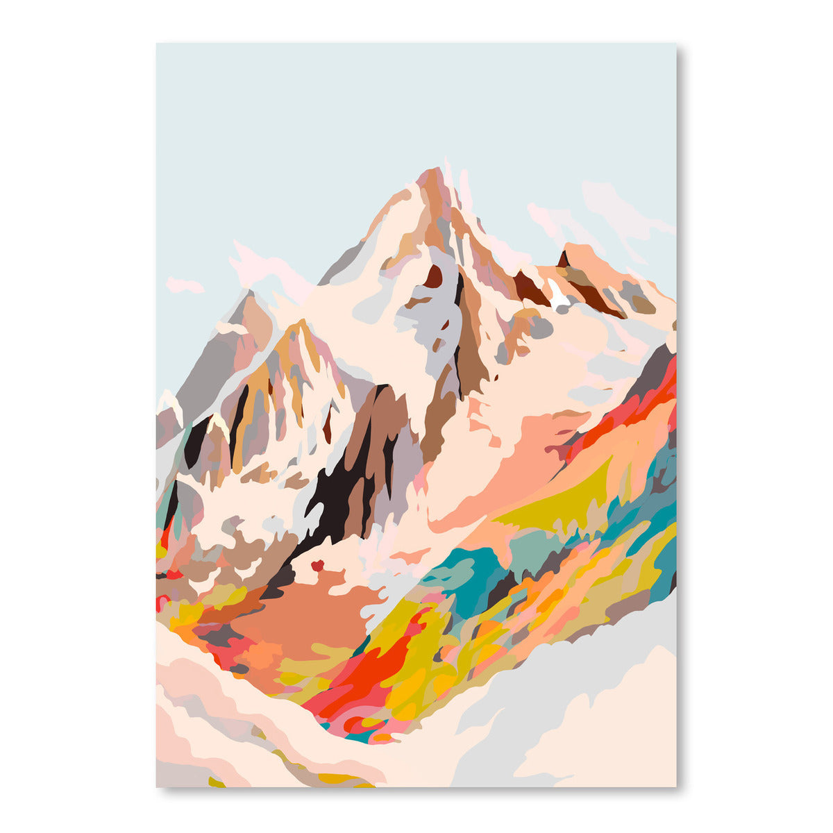 Glass Mountains by Louise Robinson - Art Print - Americanflat