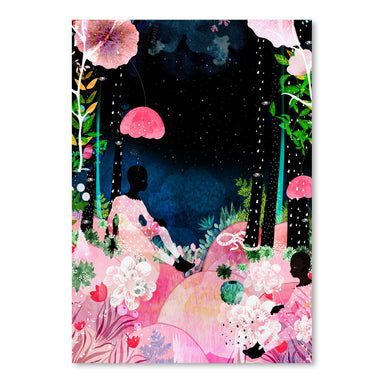 Island Night-Af by Louise Robinson - Art Print - Americanflat