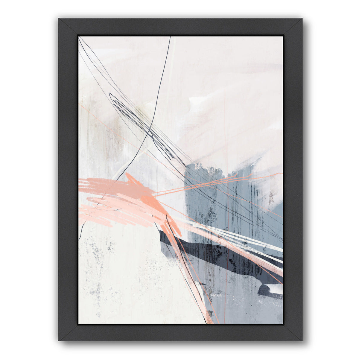 The Bridge by Louise Robinson - Black Framed Print - Wall Art - Americanflat