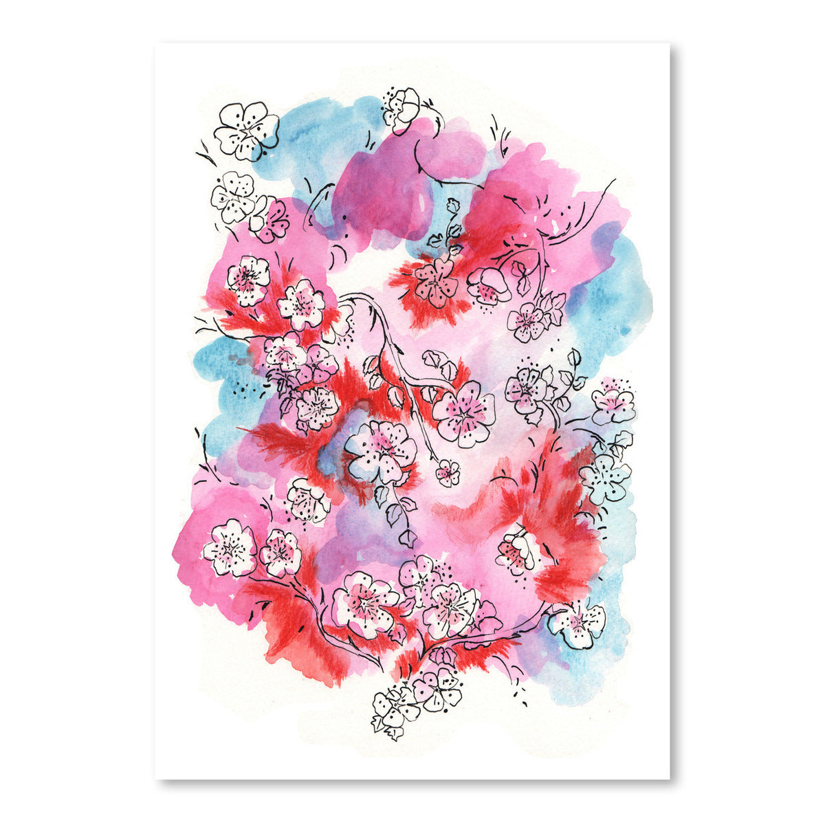 Love In Blossom by Dreamy Me - Art Print - Americanflat