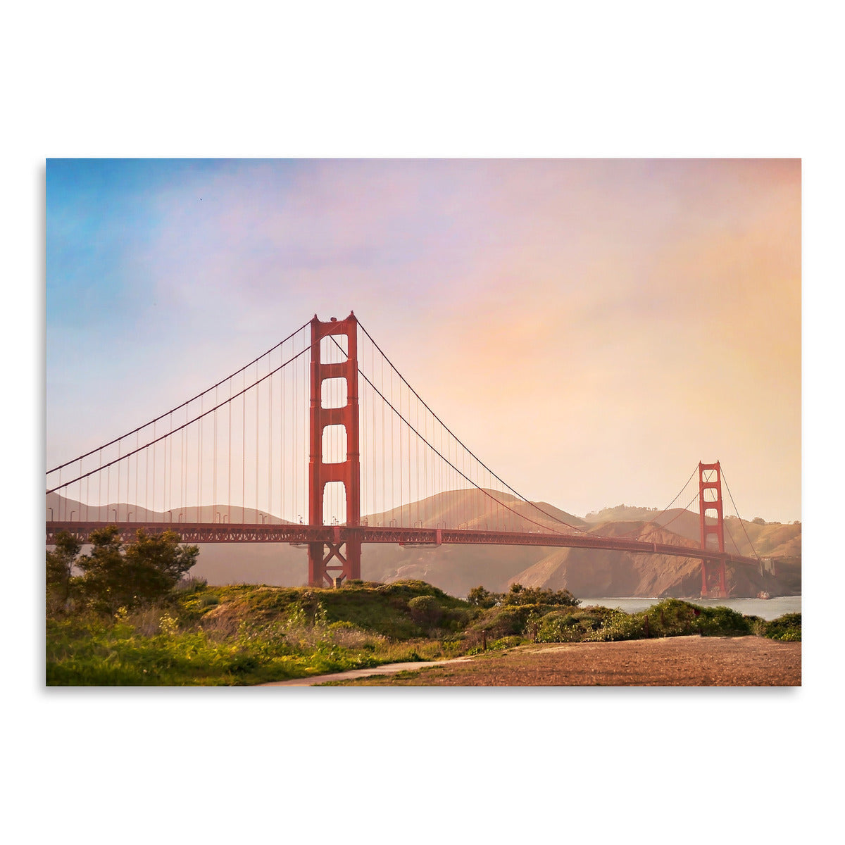 Golden Gate Bridge by Amanda Abel - Art Print - Americanflat