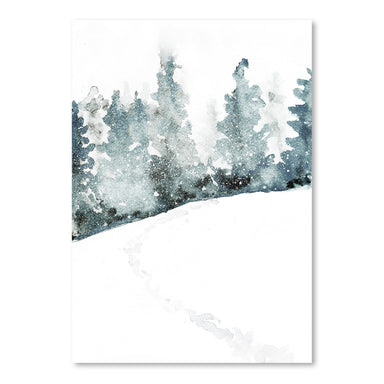 Watercolor Forest by Tanya Shumkina - Art Print - Americanflat