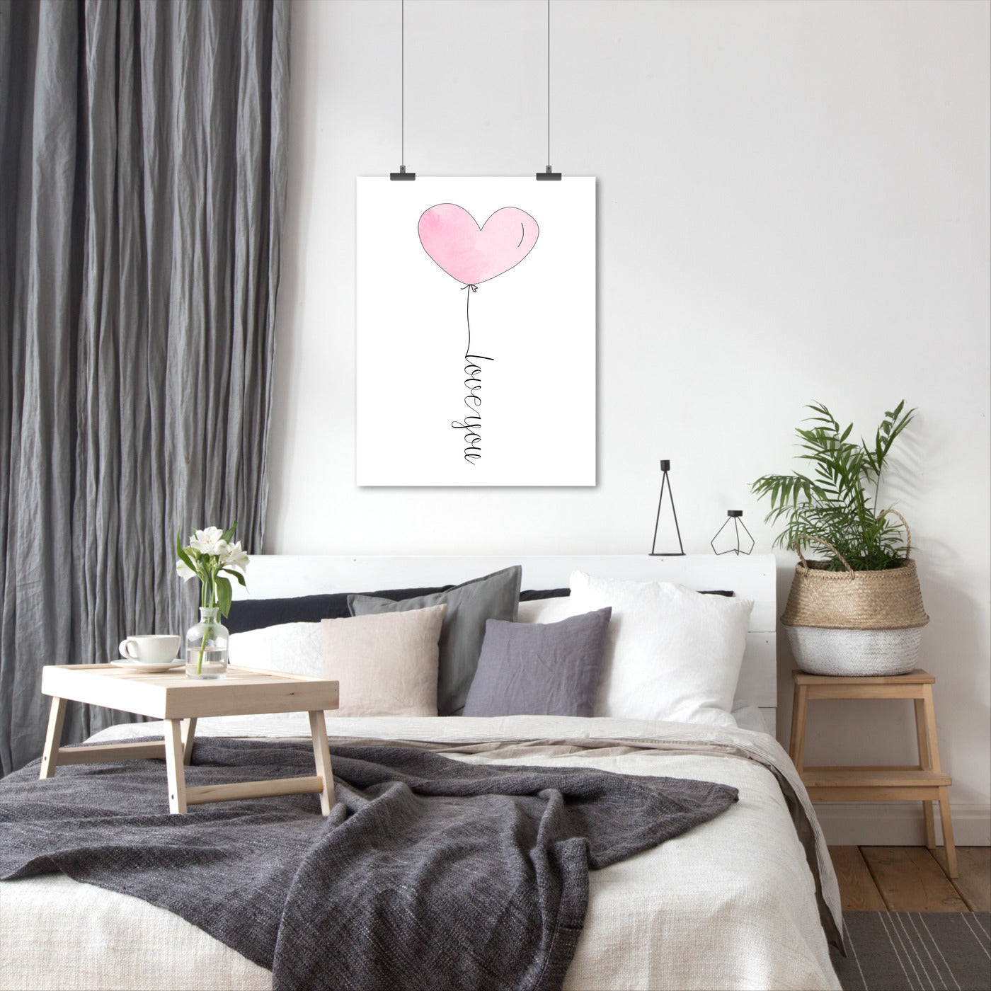 Love You Heart by Tanya Shumkina - Art Print - Americanflat
