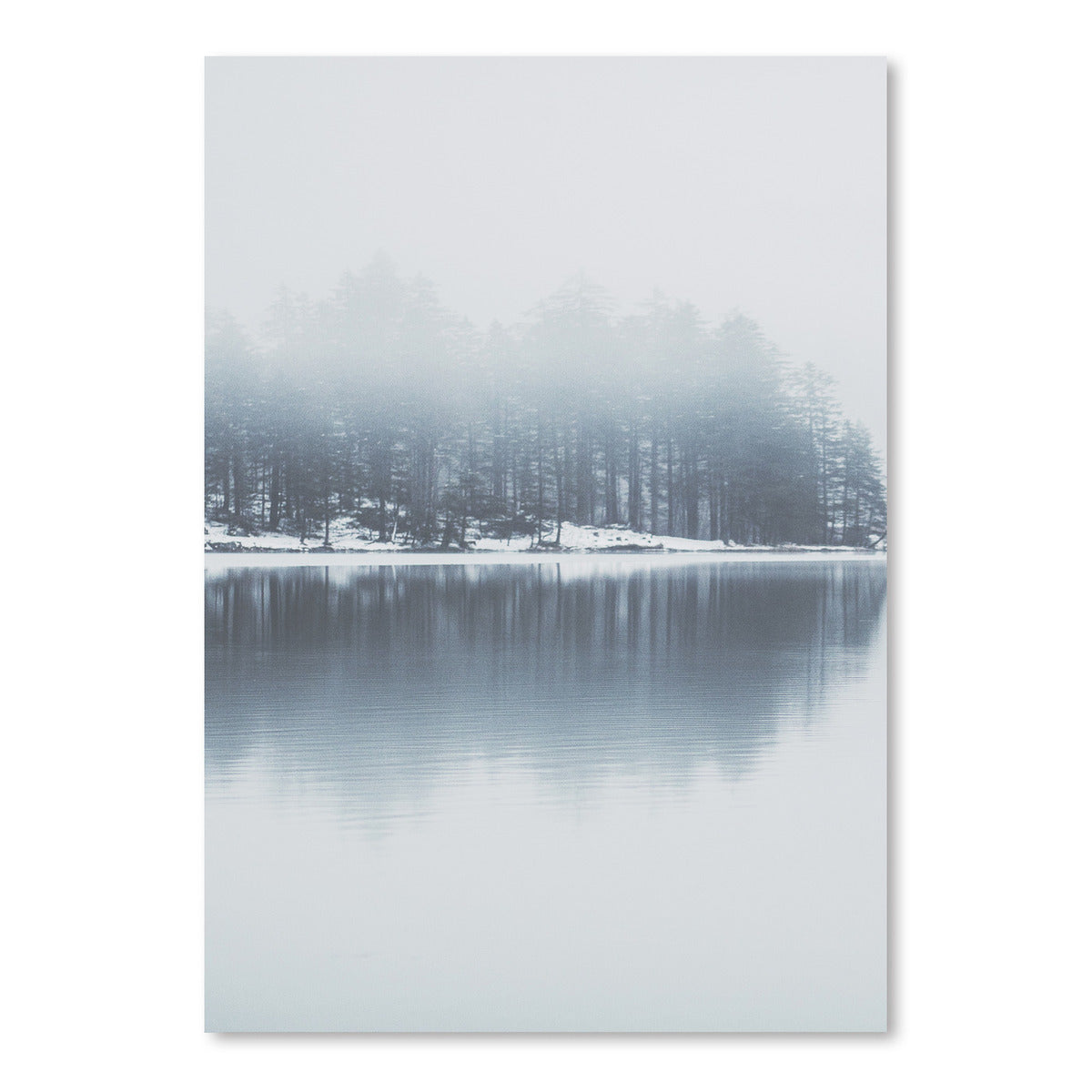 Trees On Lake by Tanya Shumkina - Art Print - Americanflat