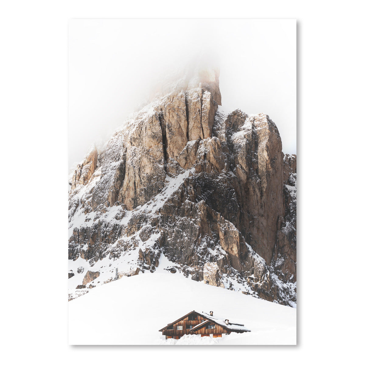 Winter Holidays In Mountains by Tanya Shumkina - Art Print - Americanflat
