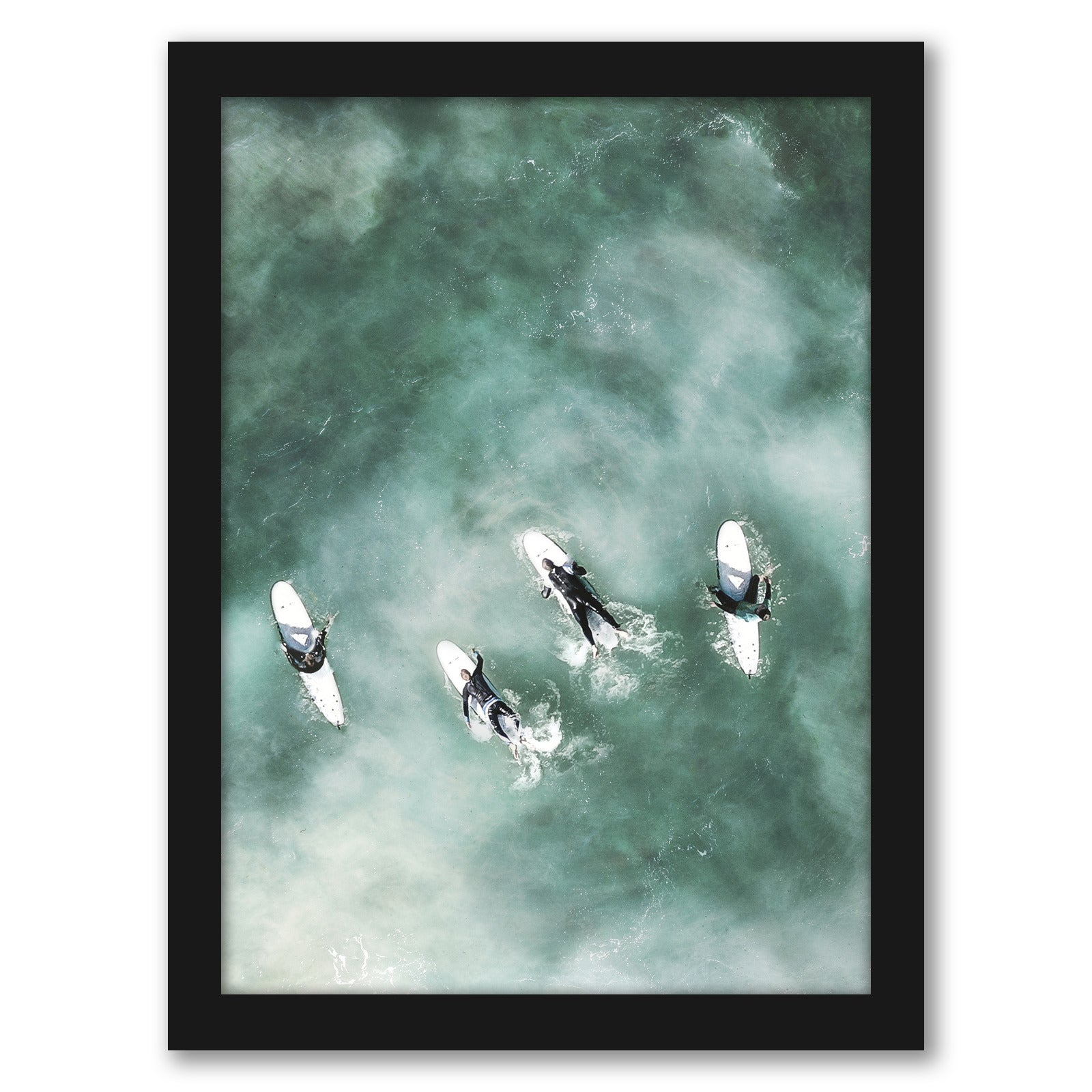 Surfers Rest by Tanya Shumkina - Black Framed Print - Wall Art - Americanflat