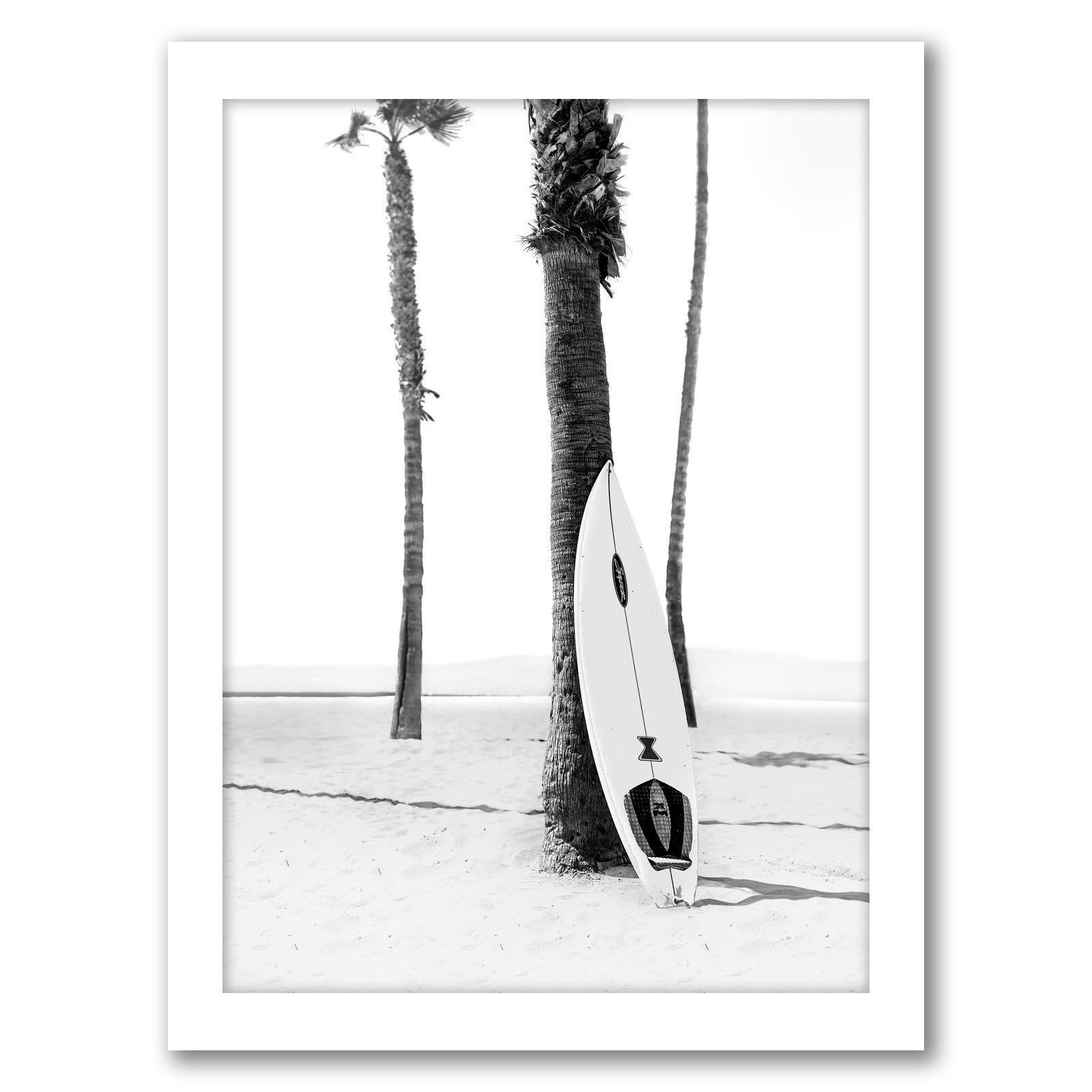 Summer Beach Photo by Tanya Shumkina - White Framed Print - Wall Art - Americanflat