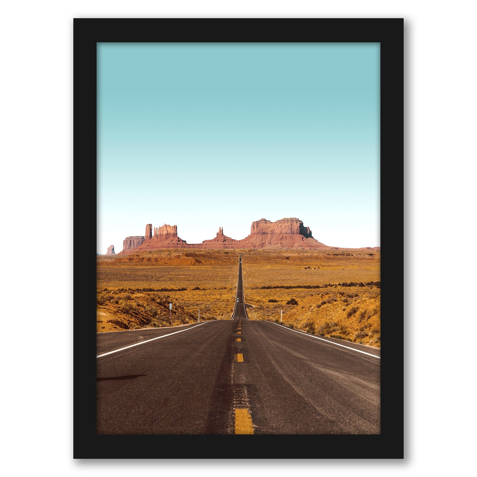 Grand Canyon by Tanya Shumkina - Black Framed Print - Wall Art - Americanflat