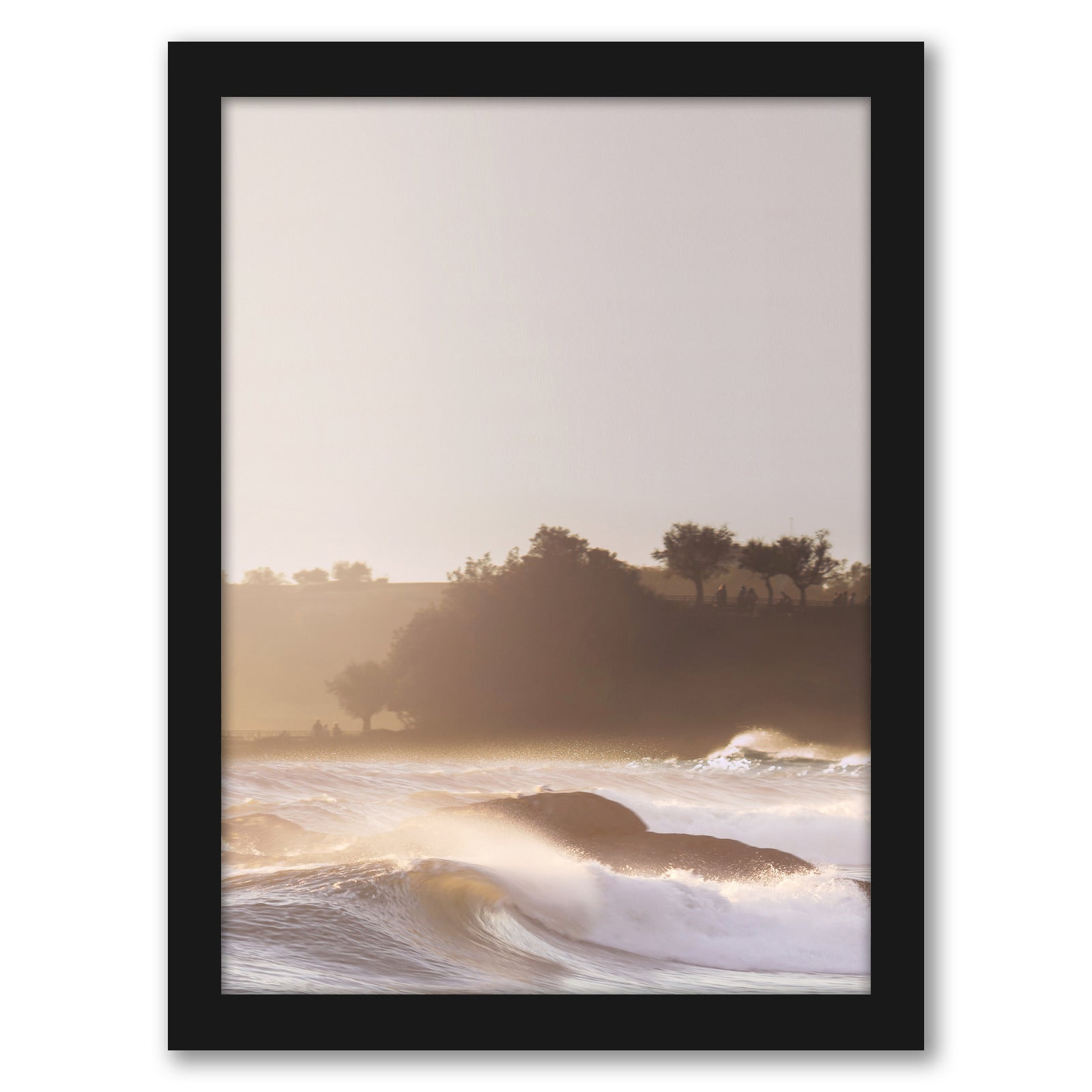 Pretty In Sunset by Tanya Shumkina - Black Framed Print - Wall Art - Americanflat
