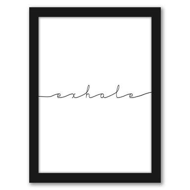 Exhale by Tanya Shumkina - Black Framed Print - Wall Art - Americanflat