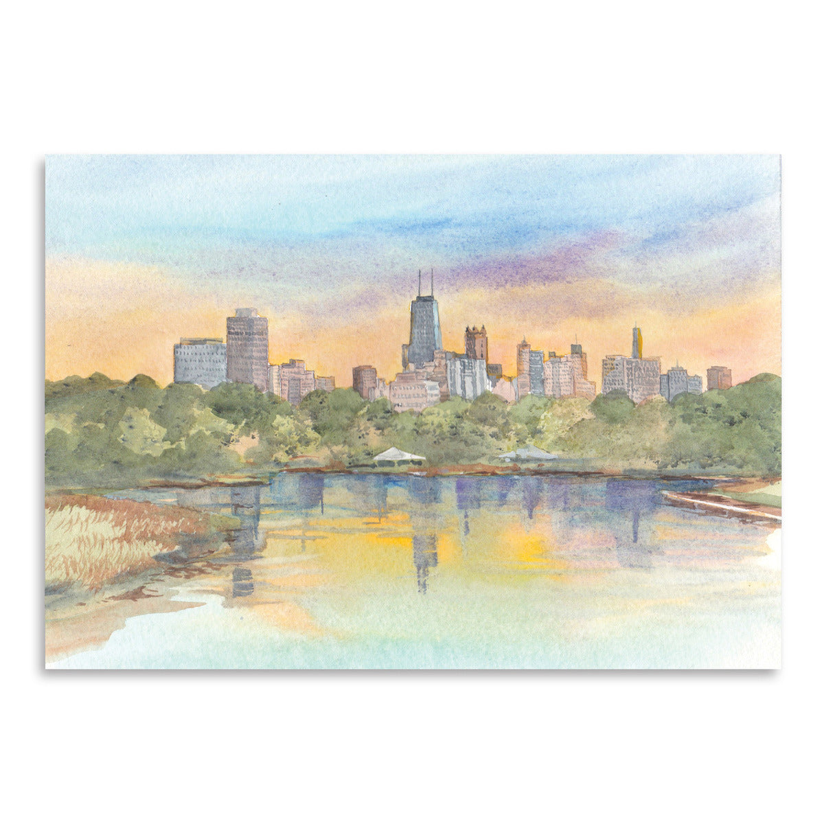 Chicago No Text by Cami Monet - Art Print - Americanflat