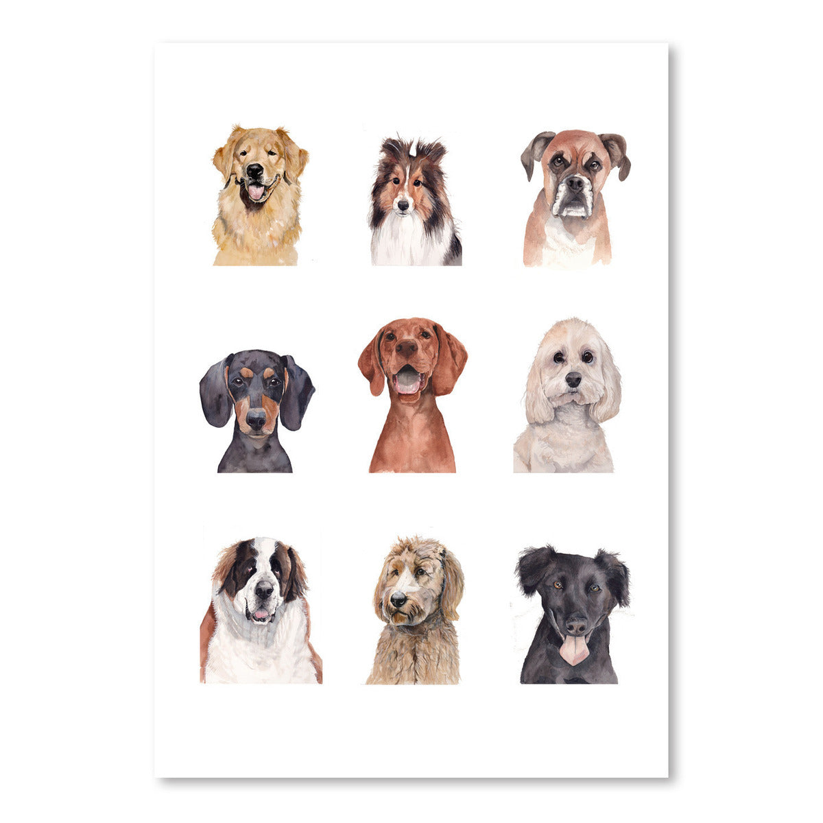 Dogprint by Cami Monet - Art Print - Americanflat