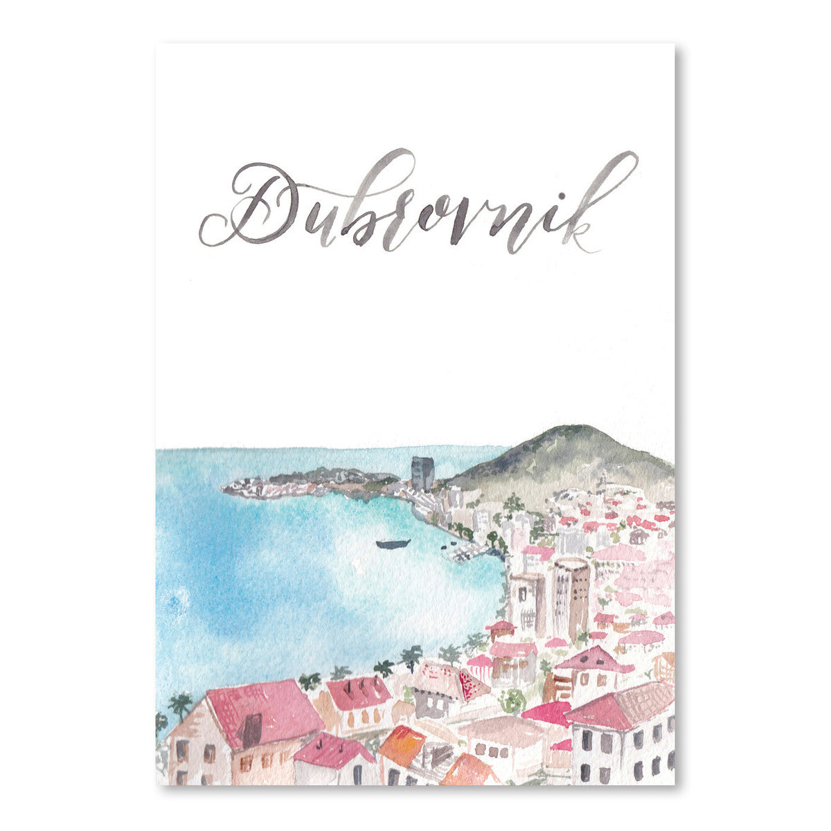 Dubrovnik by Cami Monet - Art Print - Americanflat