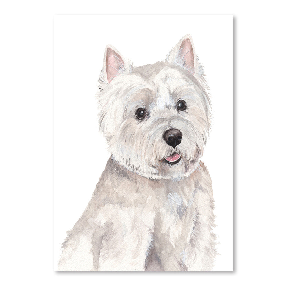 Emmy Watercolor Portrait by Cami Monet - Art Print - Americanflat