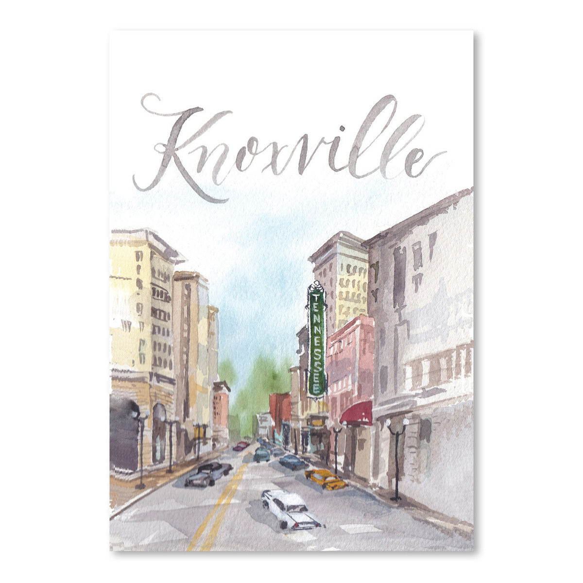 Knoxville by Cami Monet - Art Print - Americanflat