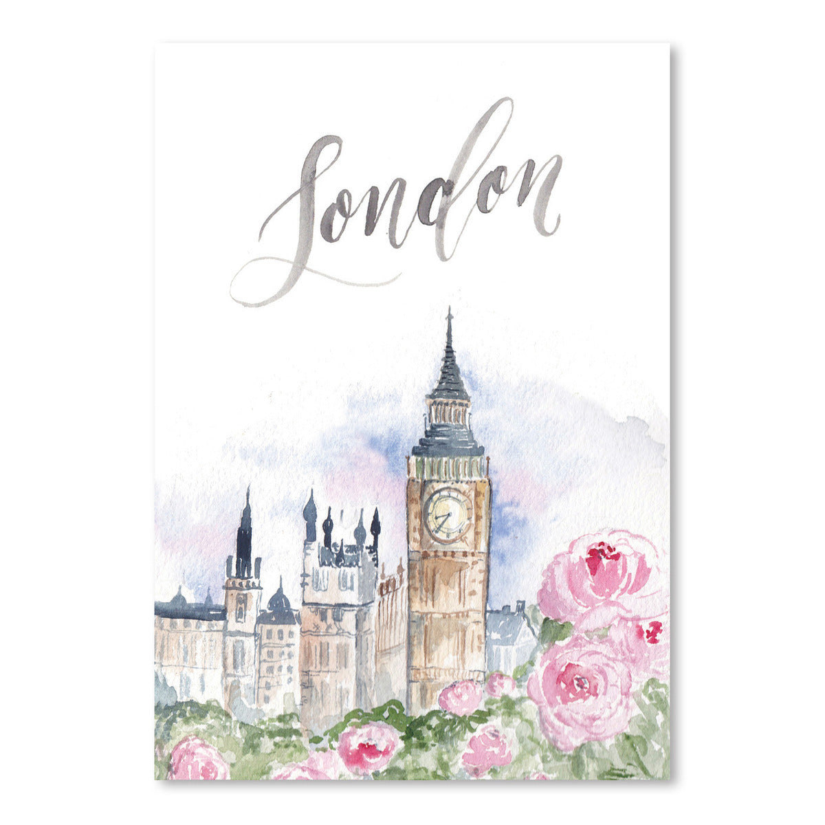 London by Cami Monet - Art Print - Americanflat