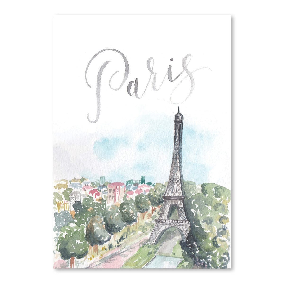 Paris by Cami Monet - Art Print - Americanflat