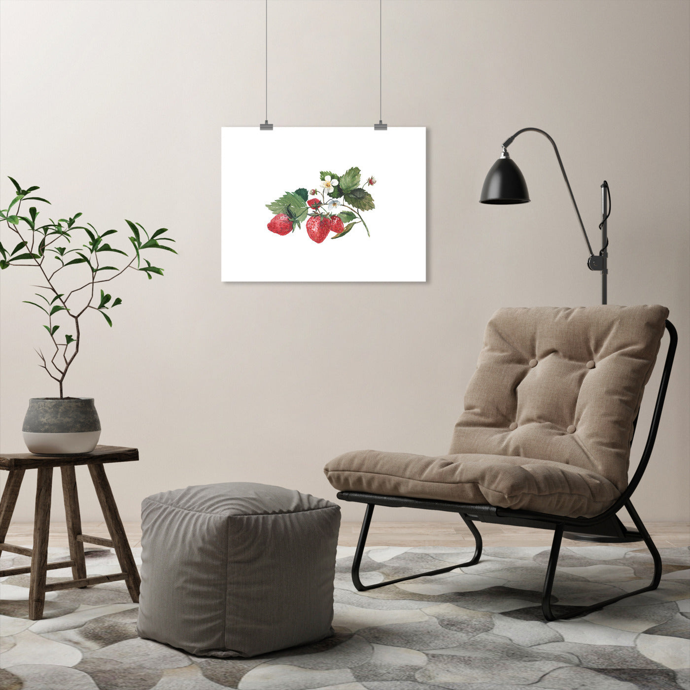 Strawberry by Cami Monet - Art Print - Americanflat