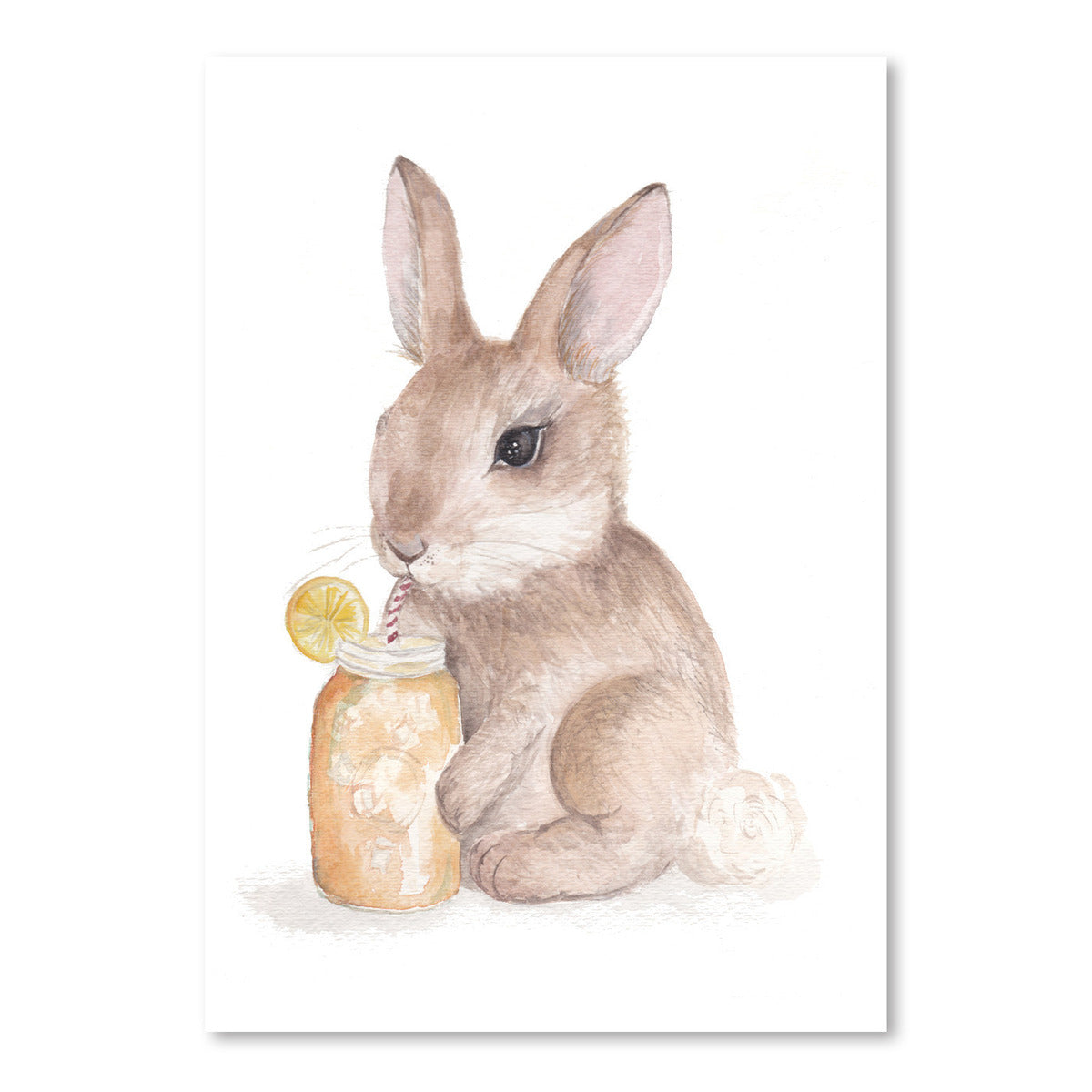 Sweet Tea Bunny by Cami Monet - Art Print - Americanflat