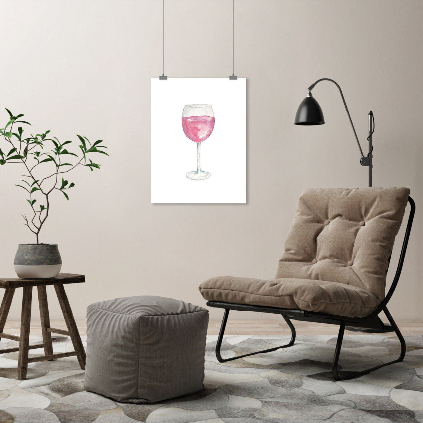 Wino by Cami Monet - Art Print - Americanflat