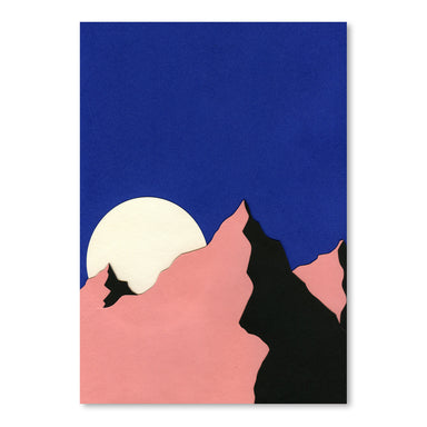 Death Valley Moon Ii by Rosi Feist - Art Print - Americanflat