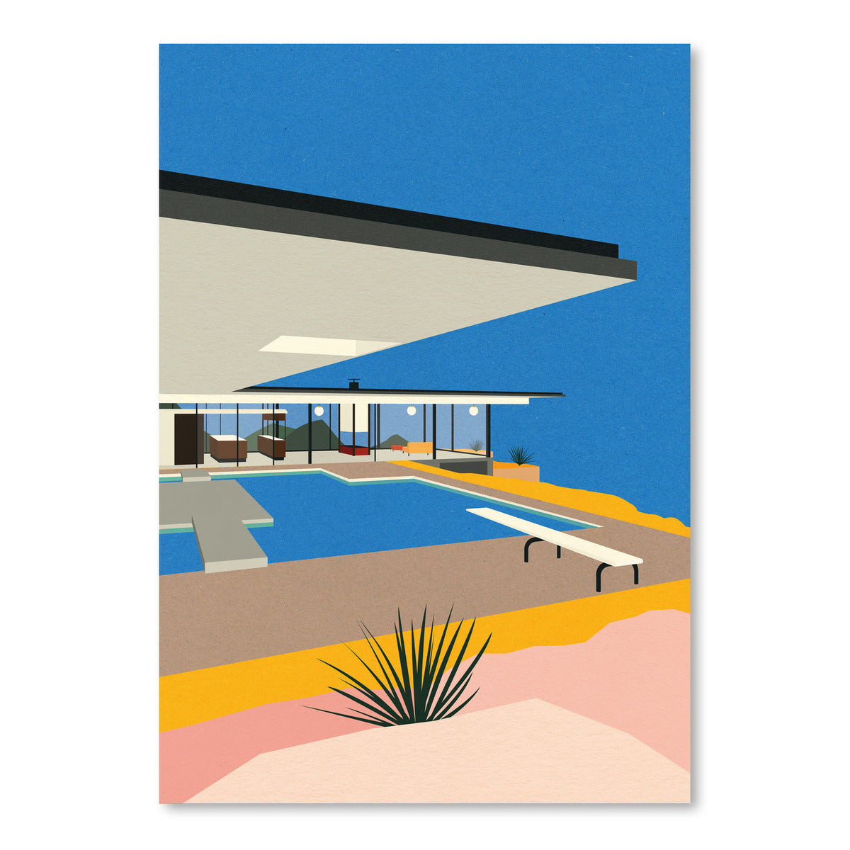 La Stahl House by Rosi Feist - Art Print - Americanflat