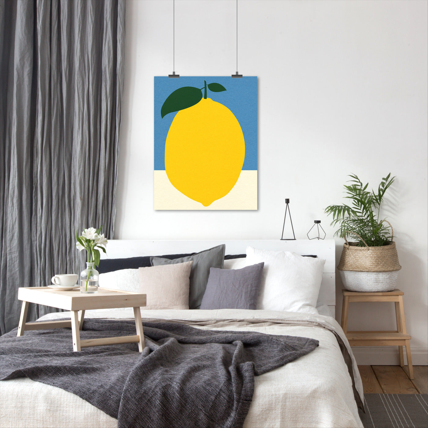 Lemon 2 by Rosi Feist - Art Print - Americanflat