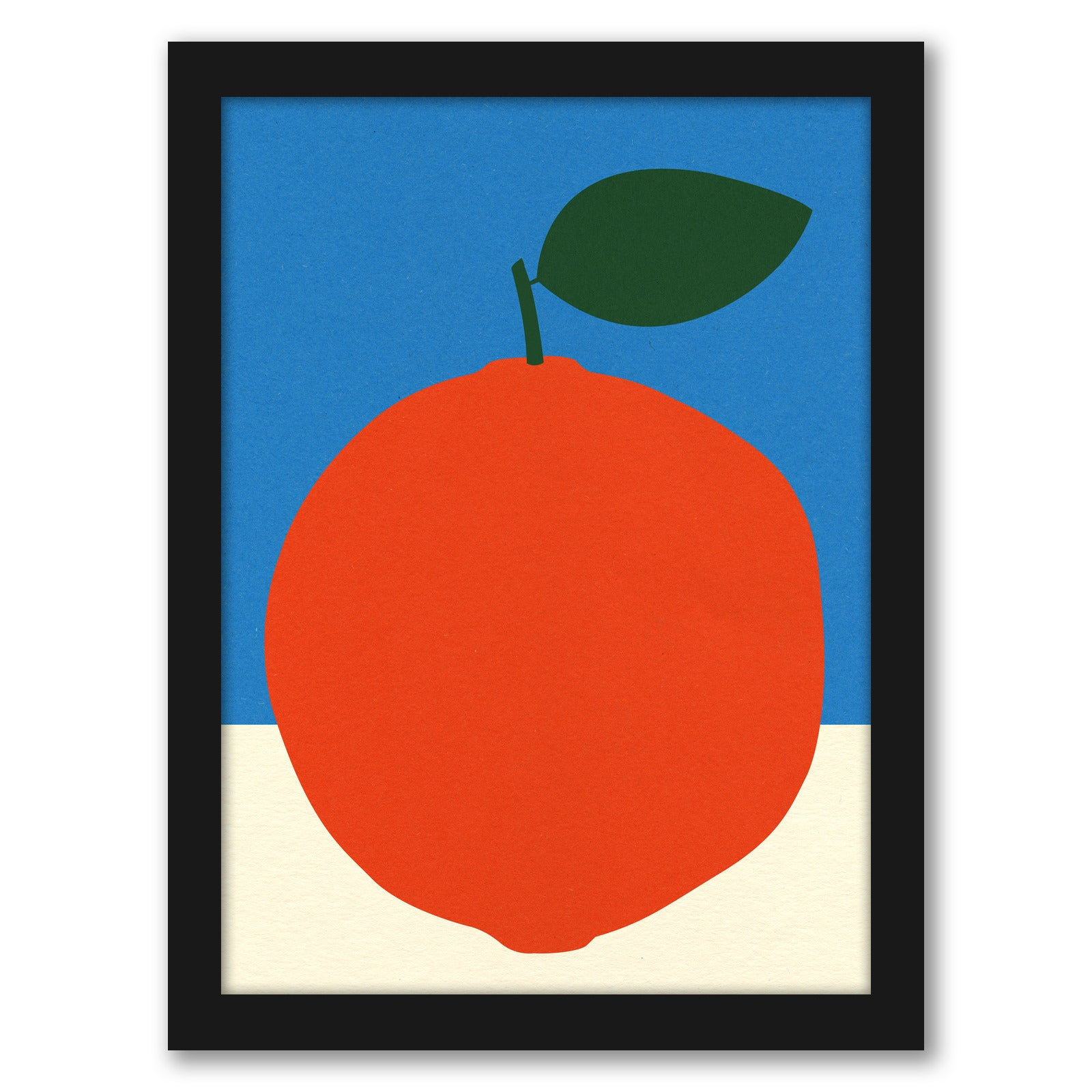 Orange by Rosi Feist - Black Framed Print - Wall Art - Americanflat