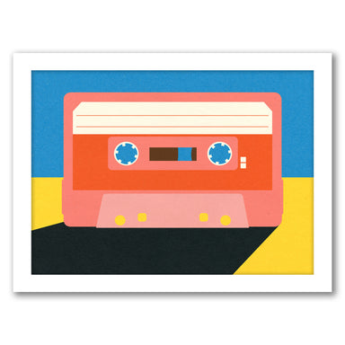 Tape4 by Rosi Feist - Black Framed Print - Wall Art - Americanflat