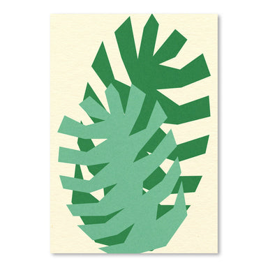 Two Palm Leafs by Rosi Feist - Art Print - Americanflat