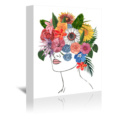 Flower Lady I by Annie Warren by World Art Group - Wrapped Canvas - Wrapped Canvas - Americanflat