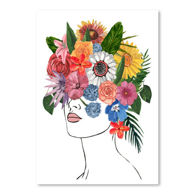 Flower Lady I by Annie Warren by World Art Group - Art Print - Americanflat