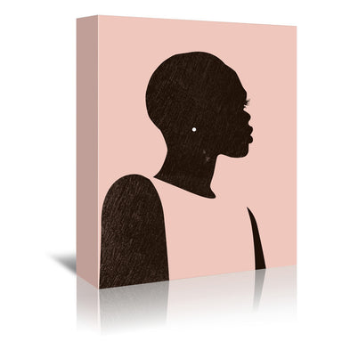 Pink Silhouette II by Jennifer Paxton Parker by World Art Group - Wrapped Canvas - Wrapped Canvas - Americanflat