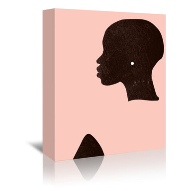 Pink Silhouette I by Jennifer Paxton Parker by World Art Group - Wrapped Canvas - Wrapped Canvas - Americanflat