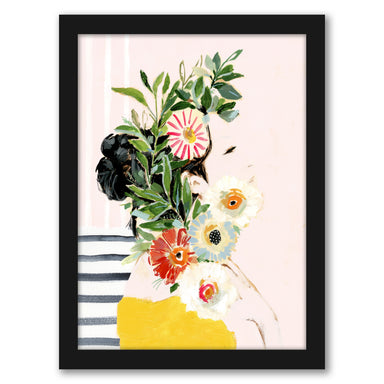 Grow Your Own Way I by Victoria Borges by World Art Group - Black Framed Print - Wall Art - Americanflat