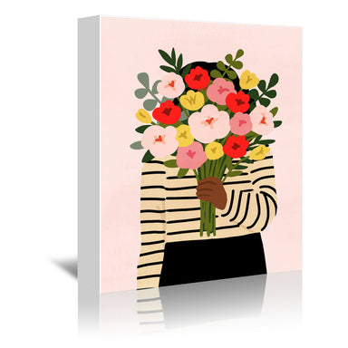 Darling Valentine I by Victoria Borges by World Art Group - Wrapped Canvas - Wrapped Canvas - Americanflat