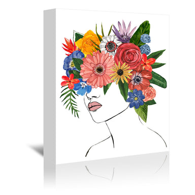 Flower Lady II by Annie Warren by World Art Group - Wrapped Canvas - Wrapped Canvas - Americanflat