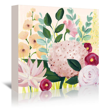 Mother's Day Blooms I by Grace Popp by World Art Group - Wrapped Canvas - Wrapped Canvas - Americanflat