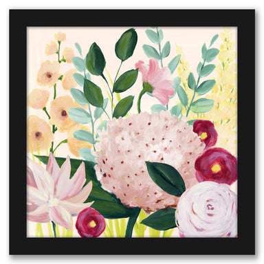 Mother's Day Blooms I by Grace Popp by World Art Group - Black Framed Print - Wall Art - Americanflat