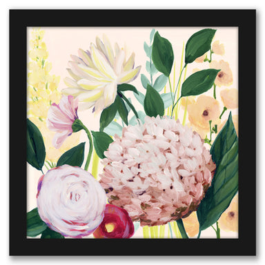 Mother's Day Blooms II by Grace Popp by World Art Group - Black Framed Print - Wall Art - Americanflat