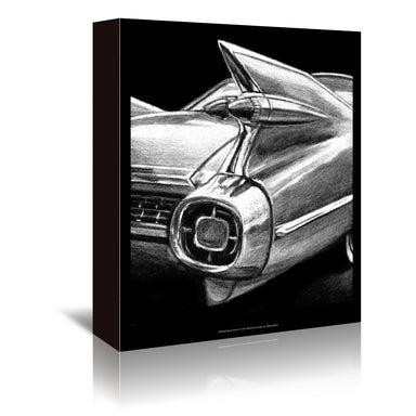 Retro Fins I by Ethan Harper by World Art Group - Wrapped Canvas - Wrapped Canvas - Americanflat