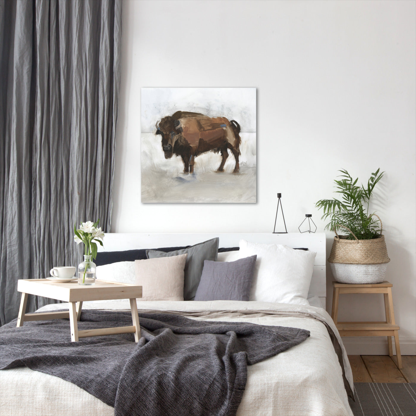 Lodge Guardian II by Jacob Green by World Art Group - Wrapped Canvas - Wrapped Canvas - Americanflat