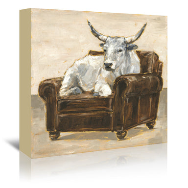 Refined Comfort II by Ethan Harper by World Art Group - Wrapped Canvas - Wrapped Canvas - Americanflat