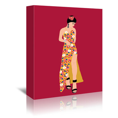 Spanish Girl by Studio Grand-Pere - Wrapped Canvas - Wrapped Canvas - Americanflat